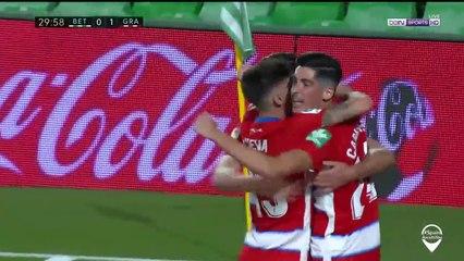 Betis 0-1 Granada: Goal Carlos Fernandez