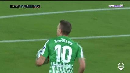 Real Betis 1-1 Granada: Goal Sergio Canales