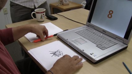 This Guy Sees Squiggles Instead of Numbers