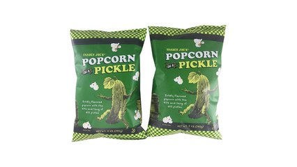 Trader Joe's Dill Pickle Popcorn Is Everything We Wanted It to Be and More