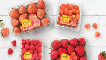 Drop Everything: Rosé Strawberries and Raspberries Just Arrived in Stores Nationwide