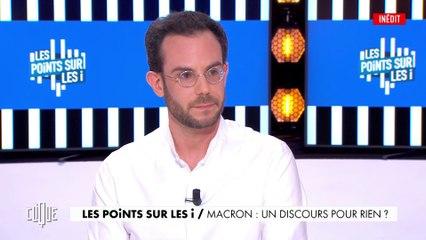 Les points sur les i : Macron, un discours pour rien ? - Clique - CANAL+