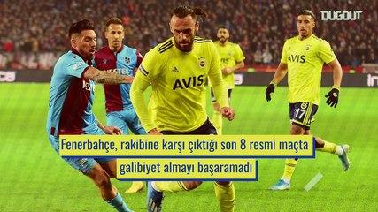 Ziraat Türkiye Kupası Yarı Finali: Fenerbahçe vs Trabzonspor