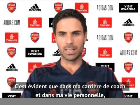 """28e j . - Arteta : """"Guardiola ? Un modèle pour moi depuis que j'ai 15 ans"""""""