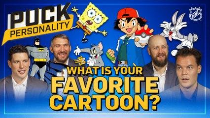 Puck Personality: NHLers' Favorite Cartoons