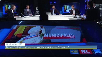 Municipales à Forbach : le débat des têtes de liste au second tour