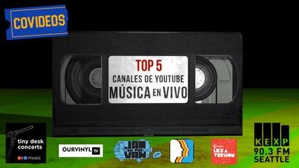 CoVideos 09 - Top 5 Canales de música de YouTube