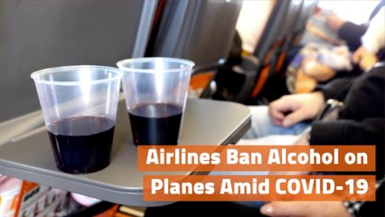 Airlines Ditch Alcohol For Now