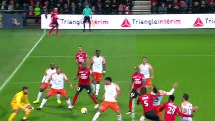 CDL 2017-18  - EA Guingamp - Montpellier Hérault SC (0-2)  (16e de finale) -