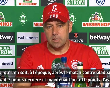 """32e j. - Flick : """"La pression de Dortmund a soudé notre équipe"""""""