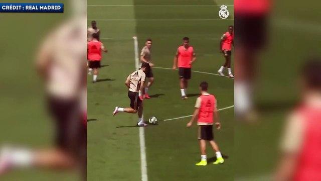 Le slalom fou de Marco Asensio à l'entraînement du Real Madrid
