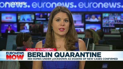 Hundreds of Berlin households placed under quarantine amid COVID-19 spike