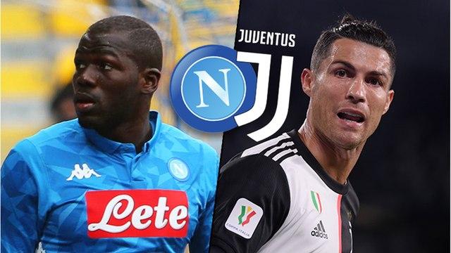 Naples - Juventus : les compositions probables de la finale de Coupe d'Italie