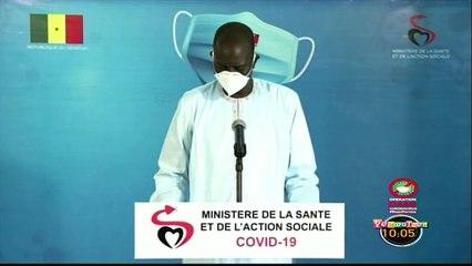 Point du jour covid19 au Sénégal ce Mercredi 17 Juin 2020 - 122 nouveaux cas et 81 gueris