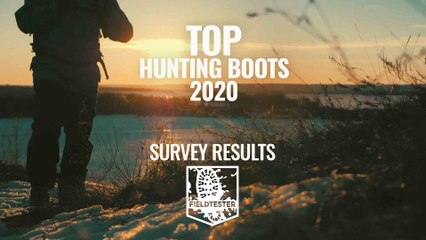 Best hunting boot survey results