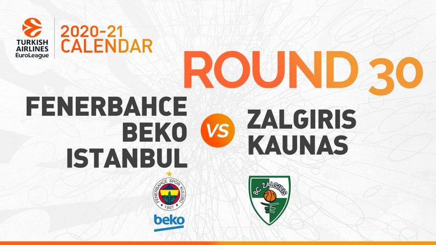 Fenerbahce Beko Istanbul vs. Zalgiris Kaunas - Game Highlights