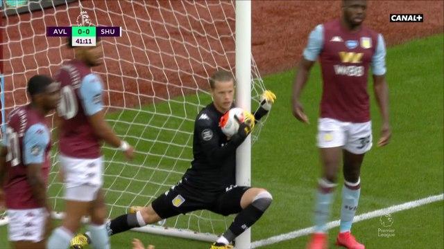L'énorme erreur de la goal-line technology pendant Aston Villa / Sheffield United !