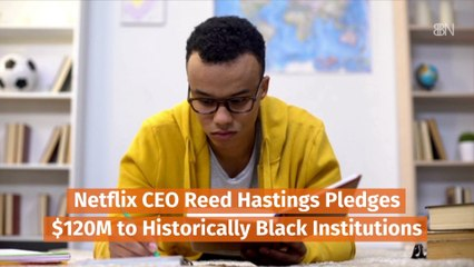 Reed Hastings And Black Institutions