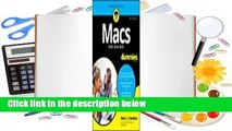 Macs for Seniors for Dummies  For Kindle