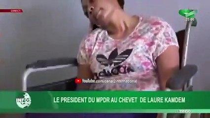 Témoignage de Laure Kamdem sur Canal 2 international