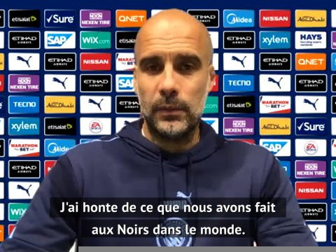 "Black Lives Matter - Guardiola : ""Les Blancs doivent s'excuser"""