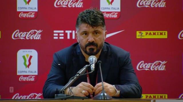 """Finale - Gattuso : """"Nous l'avons mérité"""""""