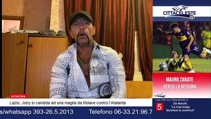 """Di Porto a Cittaceleste TV: """"Credo nel sogno scudetto"""""""