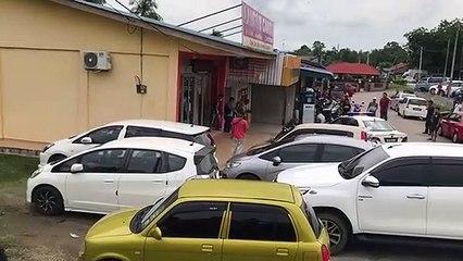 Robbery at a bank in Kota Tinggi, Johor