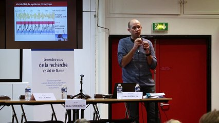 Journées Scientifiques de l'Environnement (JSE) 2020 – 2e jour du colloque scientifique  - Session « Constats, menaces et projections » : intervention de Didier Swingedouw