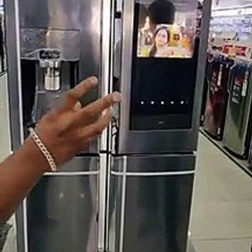 Samsung new TV fridge