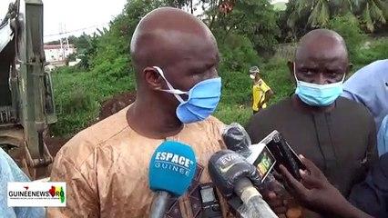 Le ministre de la Ville Dr. Ibrahima Kourouma