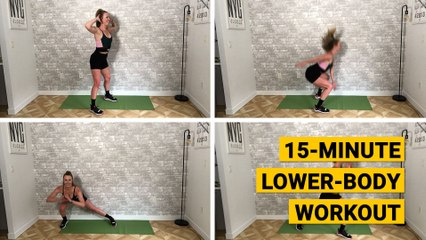 15-Minute Lower-Body Workout