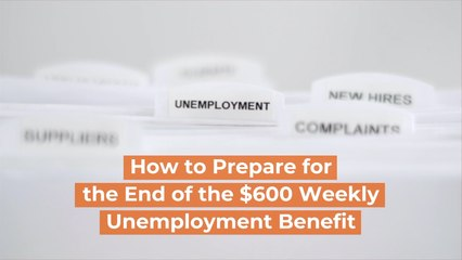 The Weekly Unemployment Benefits Will Come To A Halt