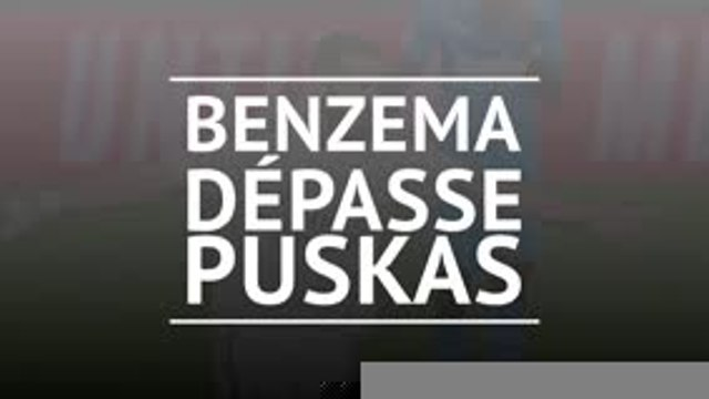 Real Madrid - Benzema dépasse Puskas !