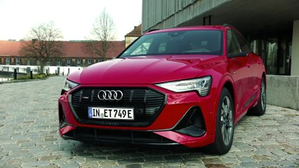 Audi e-tron Sportback جاذبة للأنظار - الخارج والداخل