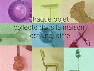 Espace Jacques Villeglé : alphabet du quotidien