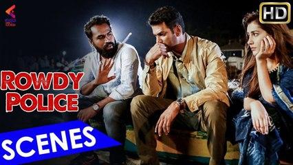 ROWDY POLICE Intro Scene   Latest Kannada Movie   Vishal   Raashi Khanna   Latest Dubbed Movies