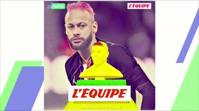 Neymar remporte le trophée de la meilleure coupe de cheveux - Foot - L1 - Rotald'Or 2020
