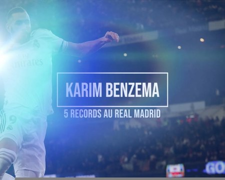 Real - 5 records détenus par Benzema