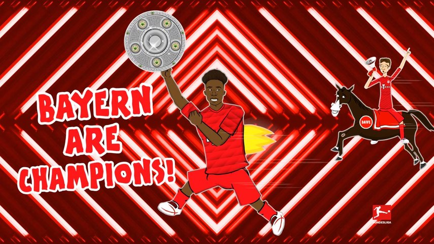 Bayern Munich Championship Song 2019/20 - Powered by 442oons