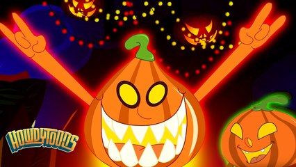 Five Little Pumpkins | Halloween Song For Kids by Howdytoons