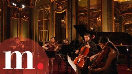 David Kadouch & the Quatuor Hermès - Schumann: Piano Quintet Op. 44 to an Empty Concert Hall