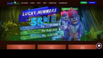India - Jungle Raja Casino review (formerly Showlion India) #India #JungleRaja