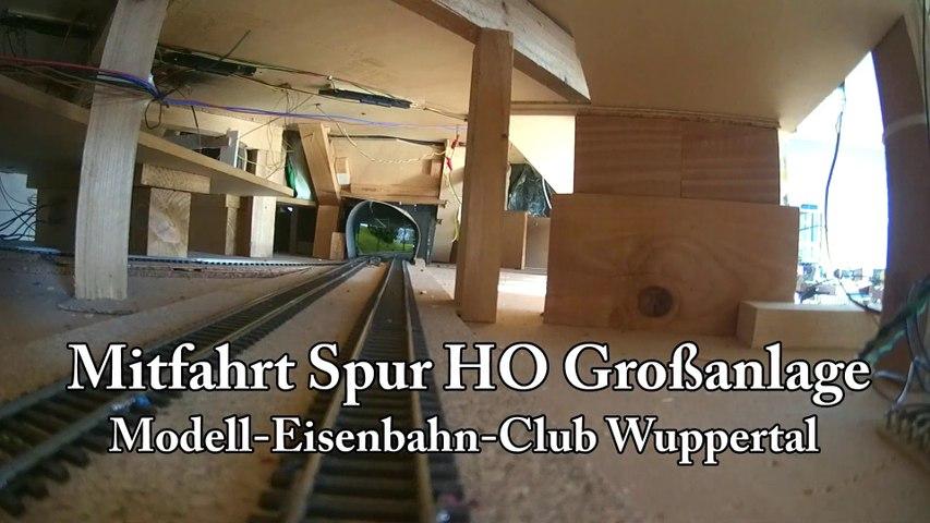 Führerstandsmitfahrt Spur H0 Großanlage - Modell-Eisenbahn-Club Wuppertal