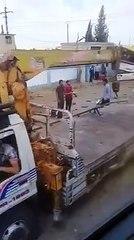 انفجار عبوة ناسفة بحافلة تقل عناصر لميليشيا أسد في ريف درعا الشرقي