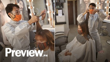 What It's Like To Get a Haircut During A Pandemic | Preview Eye | Preview