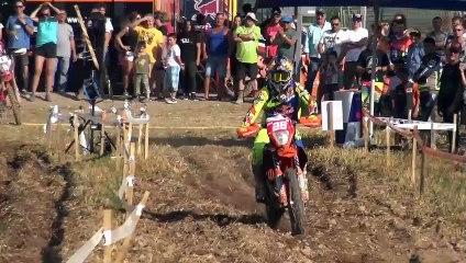 Motocross Enduro Crash