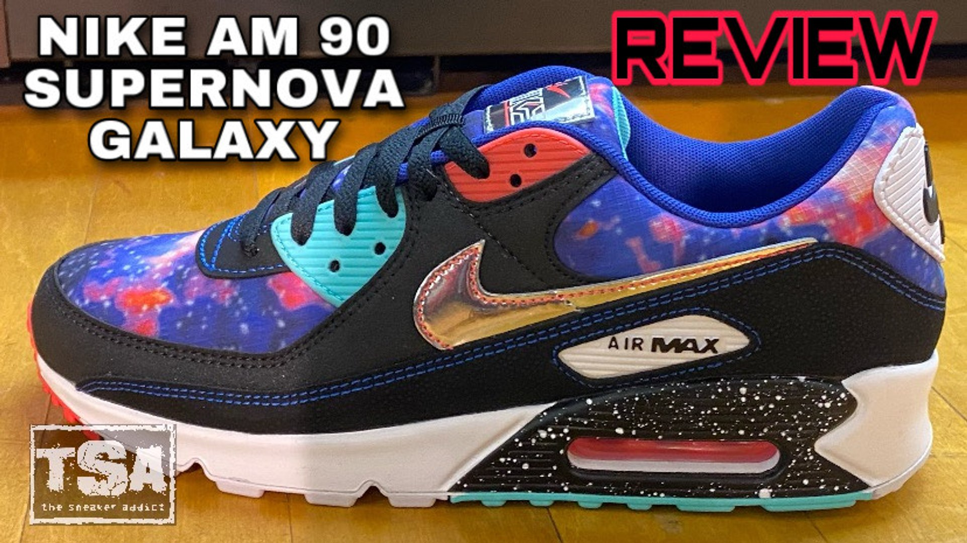 Nike Air Max 90 Supernova Galaxy Sneaker Review