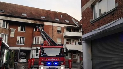 Incendie mortel à Tournai, dans un appartement situé au quai Saint-Brice