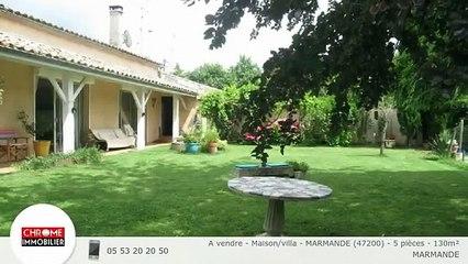 A vendre - Maison/villa - MARMANDE (47200) - 5 pièces - 130m²